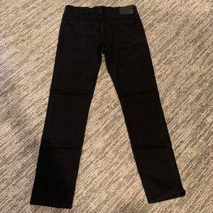 Levi's men's black skinny fit 34x32